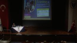 ERASMUS STAJ HAREKETLİLİĞİ BİLGİLENDİRME SEMİNERİ